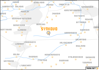 map of Synkovo