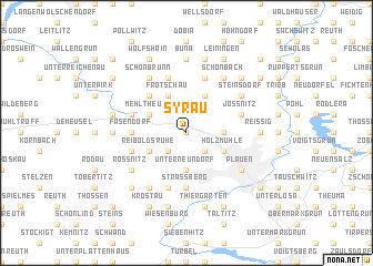 map of Syrau