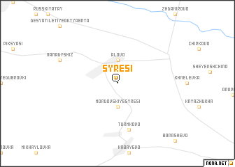 map of Syresi