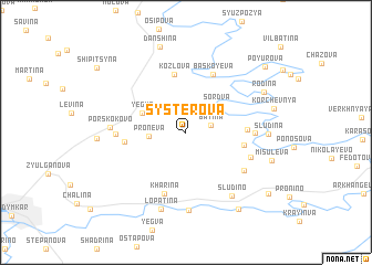 map of Systerova
