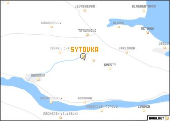 map of Sytovka
