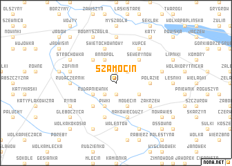 map of Szamocin