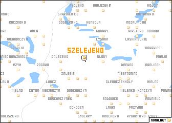 map of Szelejewo