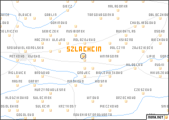 map of Szlachcin