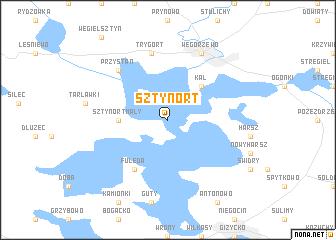 Sztynort Poland Map Nona Net