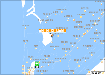 map of Taba Ahmétou