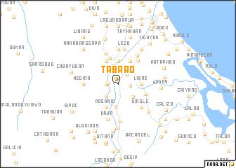 map of Taba-ao