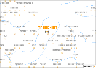 map of Tabachirt