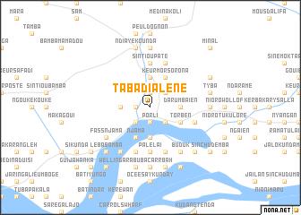 map of Tabadialène