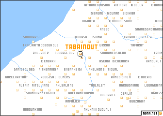 map of Tabaïnout