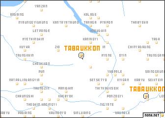 map of Tabaukkon
