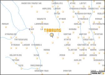map of Tabaung