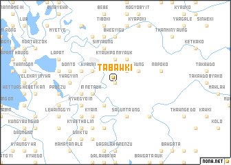 map of Tabawki