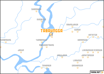 map of Tabawng Ga