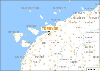 map of Tabayag