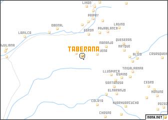 map of Taberana