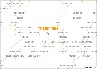 map of Tabernaus