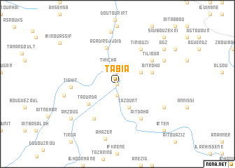 map of Tabia
