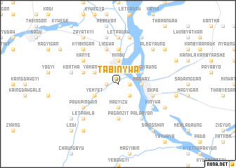 map of Tabinywa