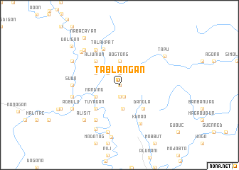 map of Tablangan