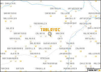 map of Tablayoc