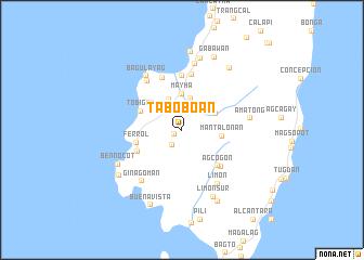 map of Taboboan