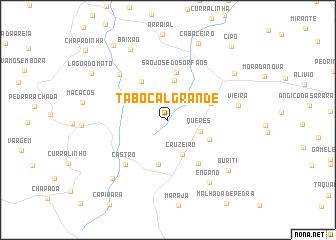 map of Tabocal Grande