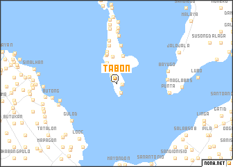 map of Tabon
