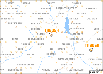 map of Tabosa
