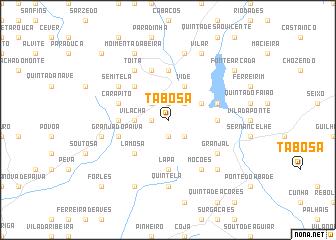 map of Tabosa
