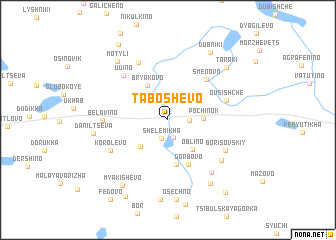 map of Taboshevo