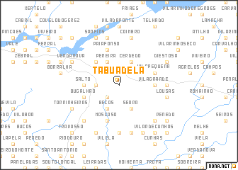 map of Tabuadela