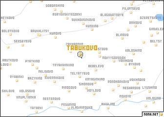 map of Tabukovo
