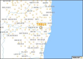 Tabuk Philippines map nonanet