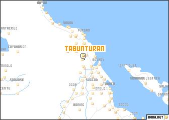 map of Tabunturan