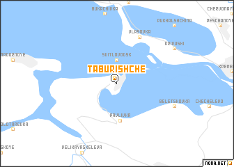 map of Taburishche