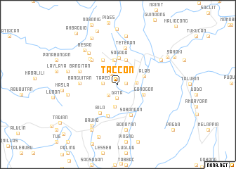 map of Taccon