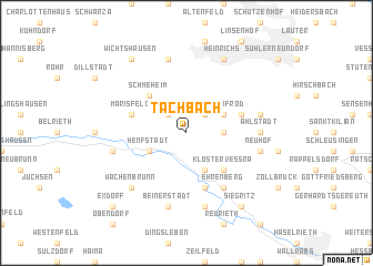 map of Tachbach