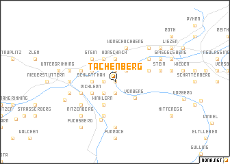 map of Tachenberg