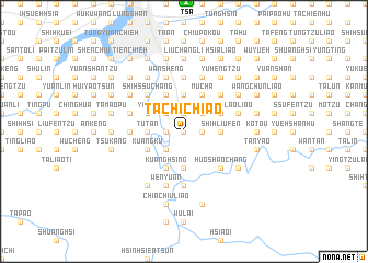 map of Ta-ch\