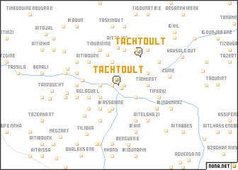 map of Tachtoult