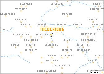 map of Tacochique