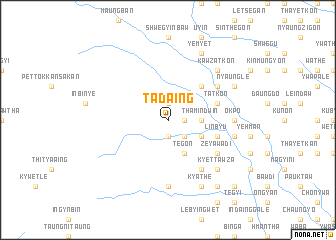 map of Tadaing