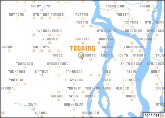 map of Tadaing