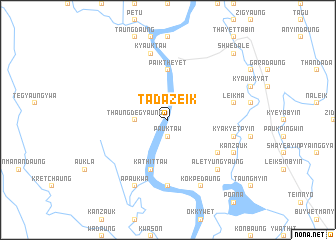 map of Tadazeik