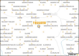 map of Taddana