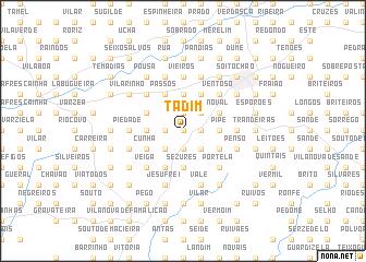 map of Tadim