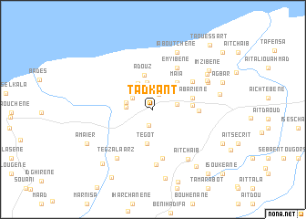 map of Tadkant