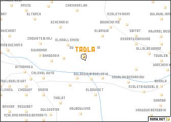 map of Tadla