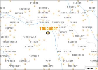 map of Tadouart